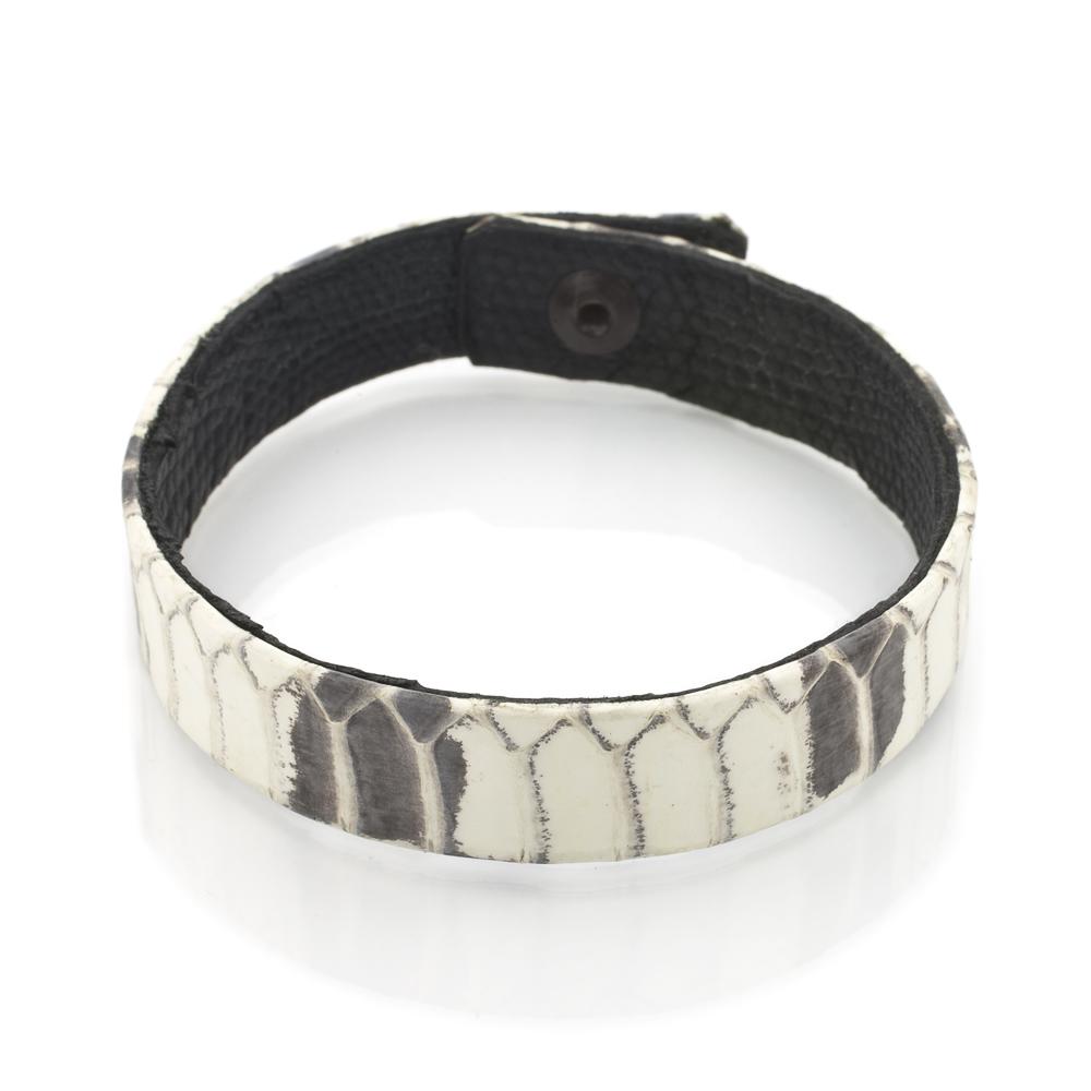 cobra snake belly s bracelet