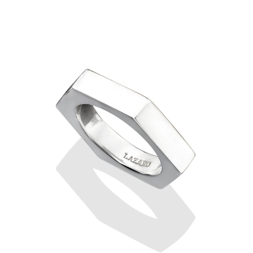 silver bolt ring