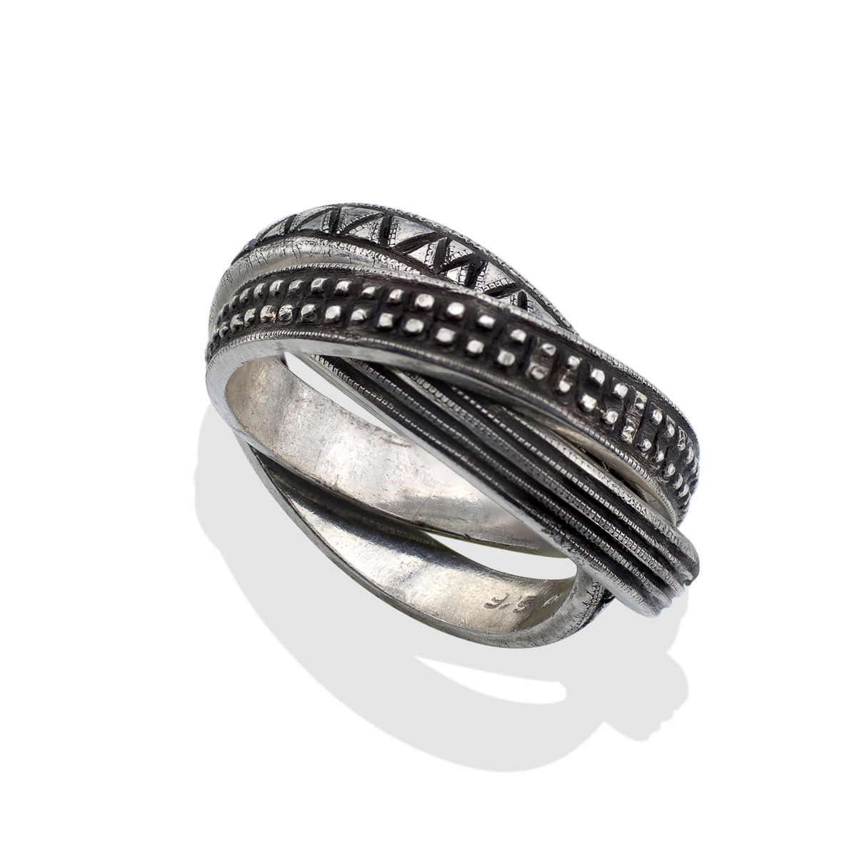 s silver rolling ring