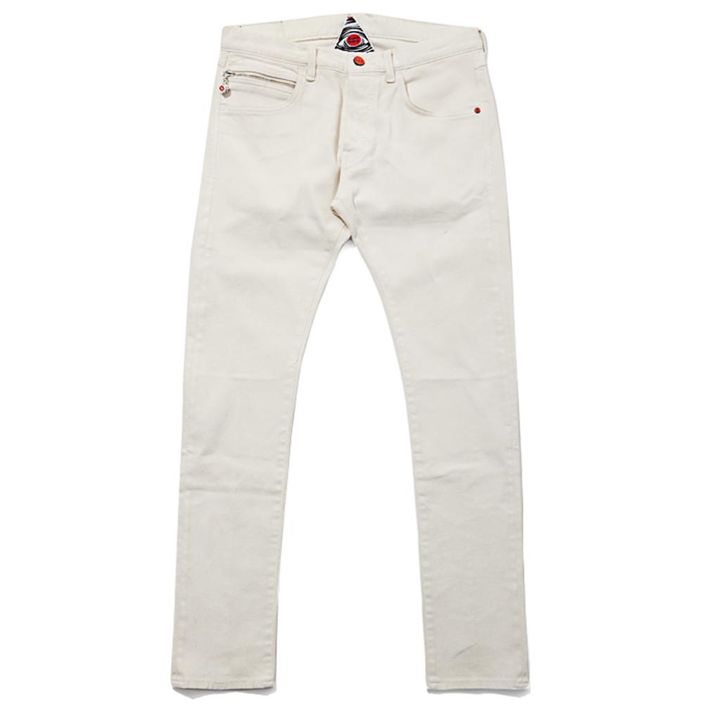 White Coats White Trihash 5 Pocket Coated