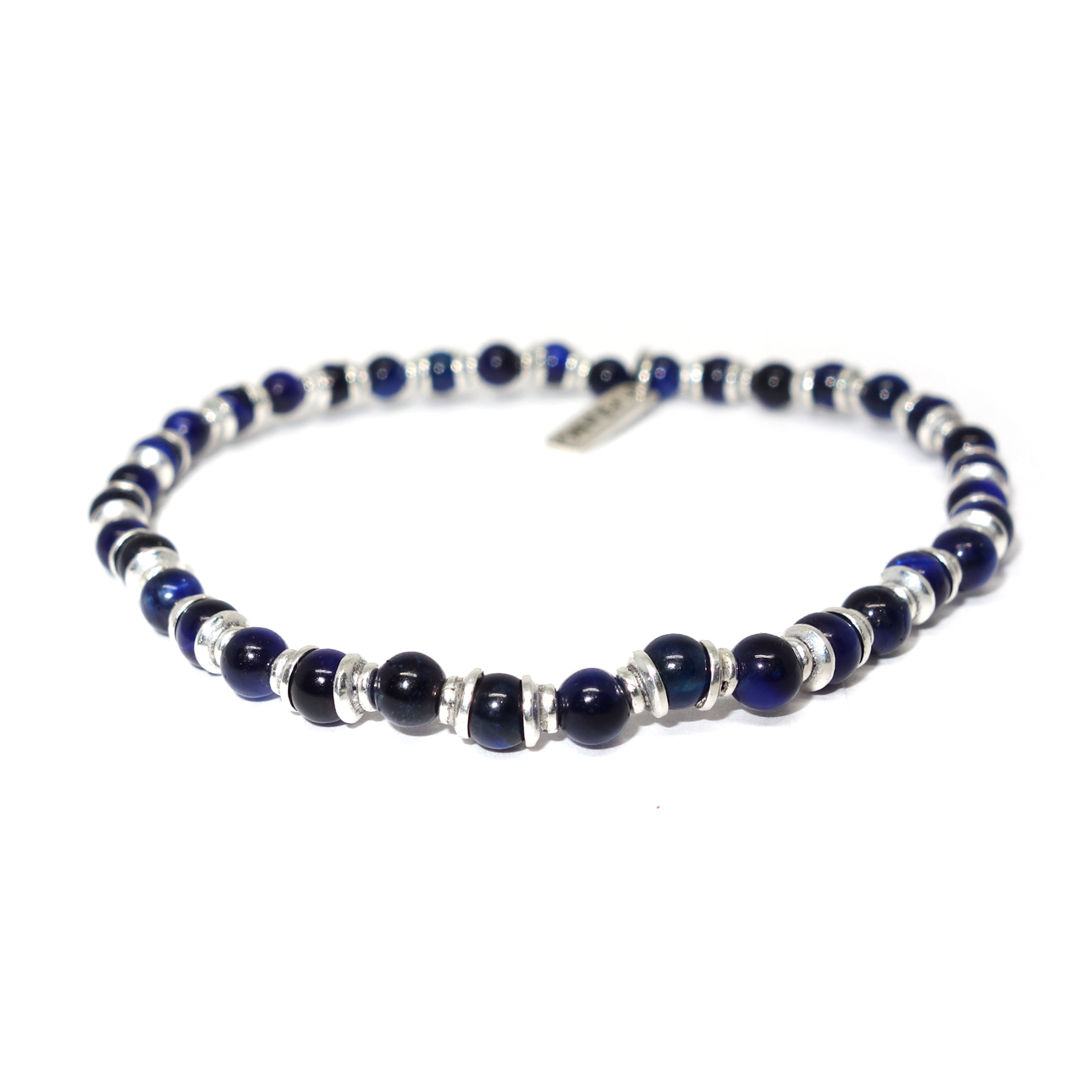 4mm Gemstone Beaded Bracelet