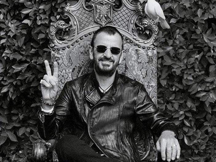 Ringo Starr Wearing Sunglasses and Lazaro Soho Jewelry