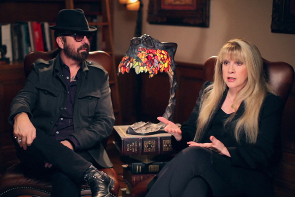 Producer and Musician Dave Stewart in Lazaro with Stevie Nicks in Documentary