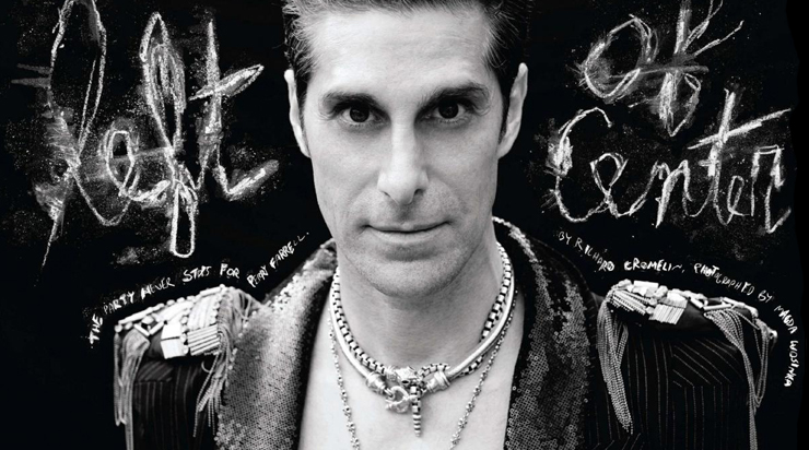 Perry Farrell of Janes Addiction Wearing Handmade Designer Mens Jewelry by Lazaro SoHo NYC
