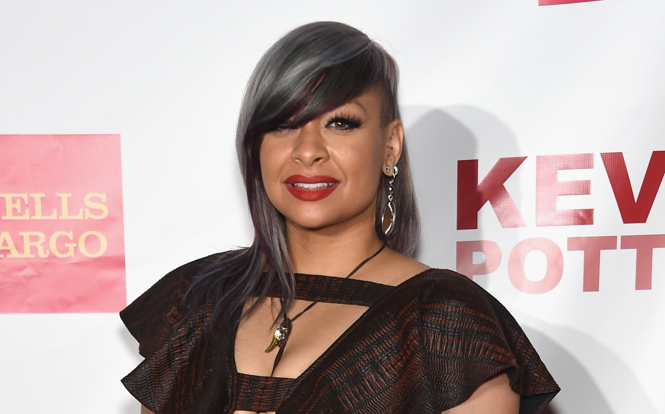 Raven Symone Rocked Our Raven Necklace At The Trevor Project Fundraiser