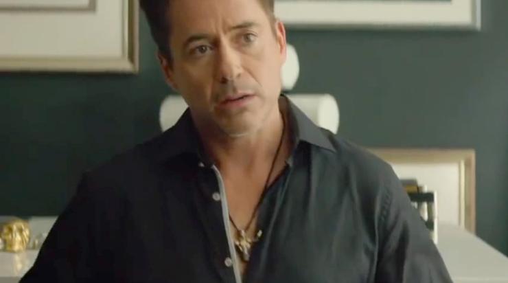 Robert Downey   Jr in Lazaro SoHo Jewelry