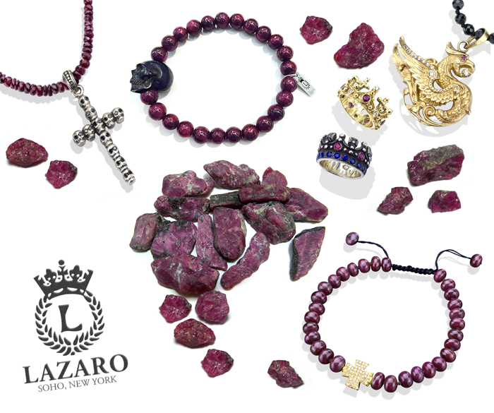 Ruby Jewelry at Lazaro SoHo