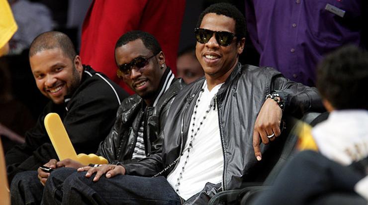 Jay Z in Lazaro SoHo Jewelry
