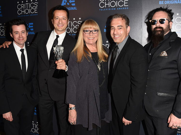 "Ve Neill at Critics' Choice Television Awards for ""Face Off"""