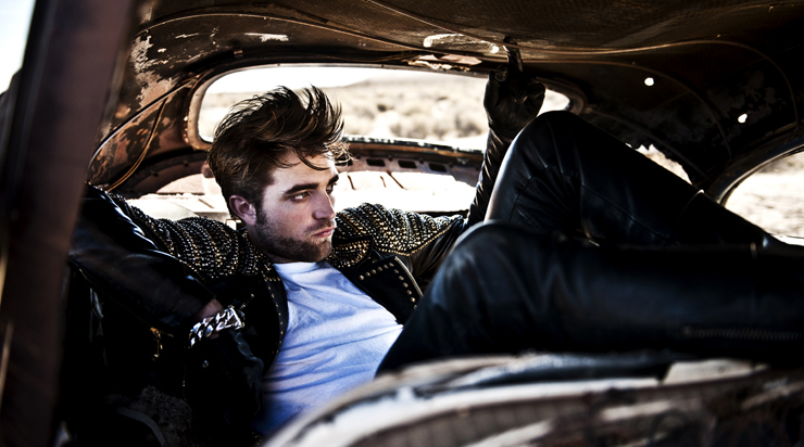 Robert Pattinson   in Lazaro SoHo Jewelry
