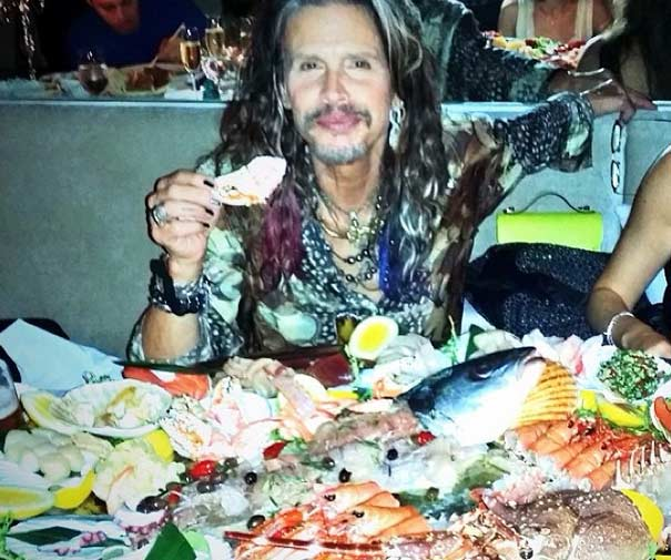 Steven Tyler in Lazaro SoHo Jewelry