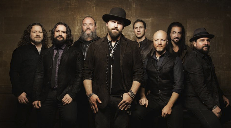 Zac Brown Wearing Hat and Lazaro Jewlery