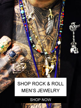 Link to Men's Rock & Roll Jewelry