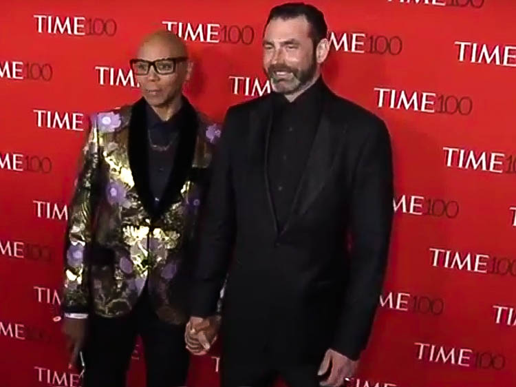 Georges LeBar Wears Lazaro to TIME 100 Gala