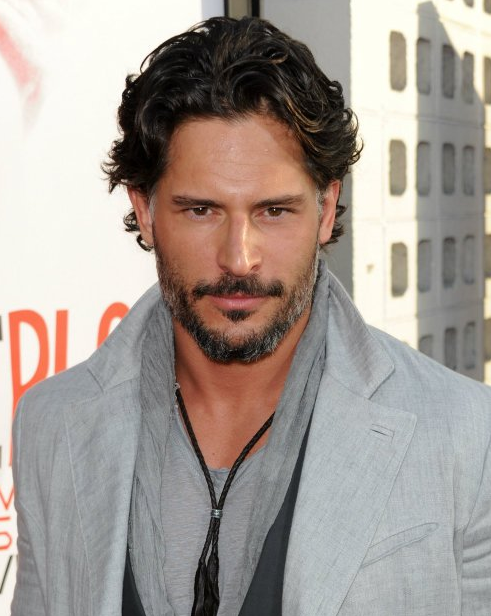 True Blood Star Joe Manganiello in Lazaro SoHo Jewelry