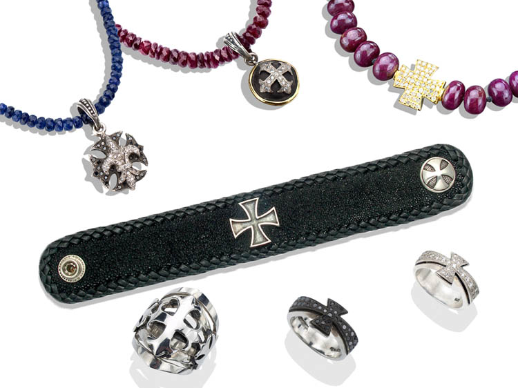 Lazaro Maltese Cross Jewelry