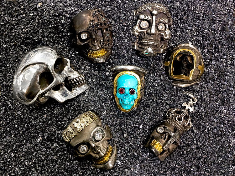 Men's Skull Jewelry - A Fashionable Art