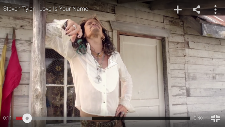 Watch new country hit by Steven Tyler featuring Lazaro SoHo men's jewelry