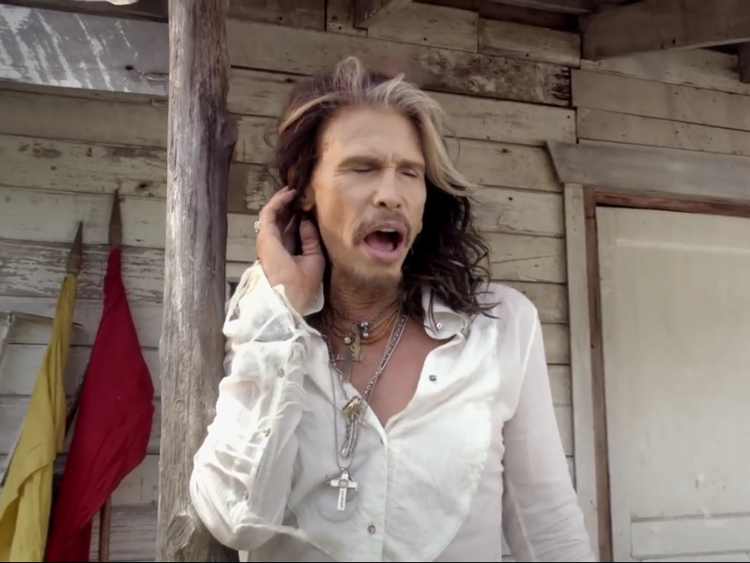 "Lazaro Jewelry featured in ""Love is Your Name"" video for new country song by Steven Tyler."