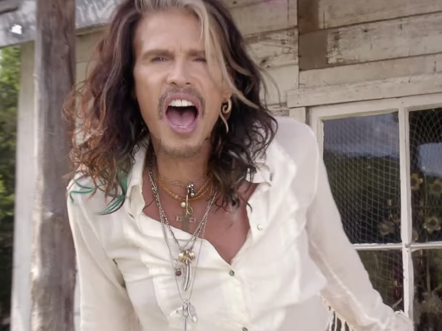 "Lazaro Jewelry featured in ""Love is Thy Name"" video for new country song by Steven Tyler."