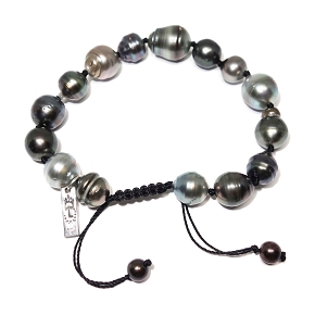 Baroque South Sea Pearl Adjustable Bracelet