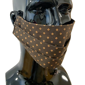 Diamond Pattern Face Mask