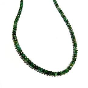 Limited Edition Natural Emerald Necklace