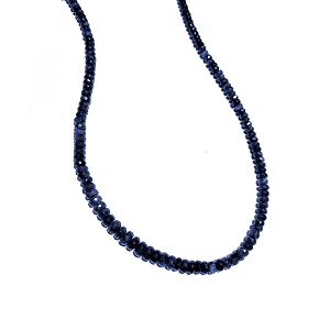Limited Edition Natural Sapphire Necklace