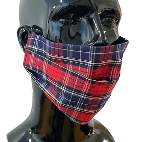 Glen Plaid Face Mask