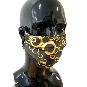 Gold Chain Face Mask