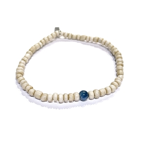 Shell & Kyanite Bracelet