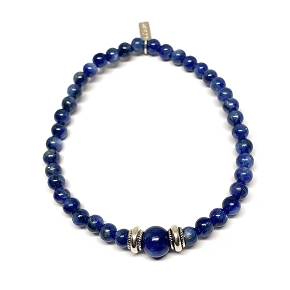 Small Beaded Kyanite Bracelet