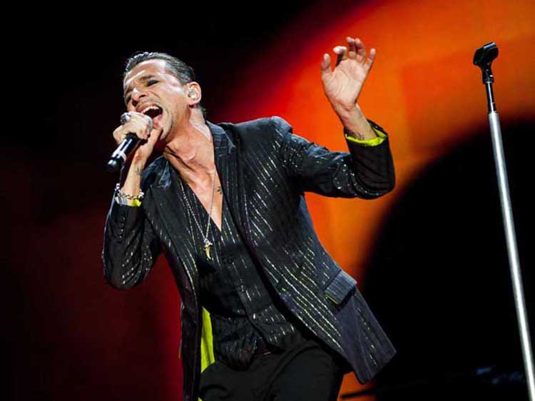 Style Icons Dave Gahan & Depeche Mode Are On A Global Tour