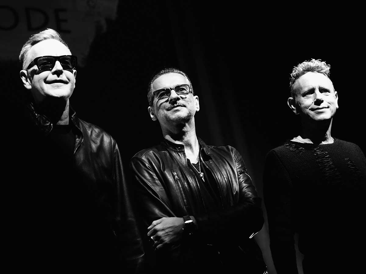 Depeche Mode and Dave Gahan pose with raven skull pendant necklace.jpg