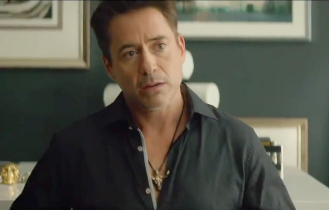 Robert Downey Jr. Wears Lazaro SoHo in