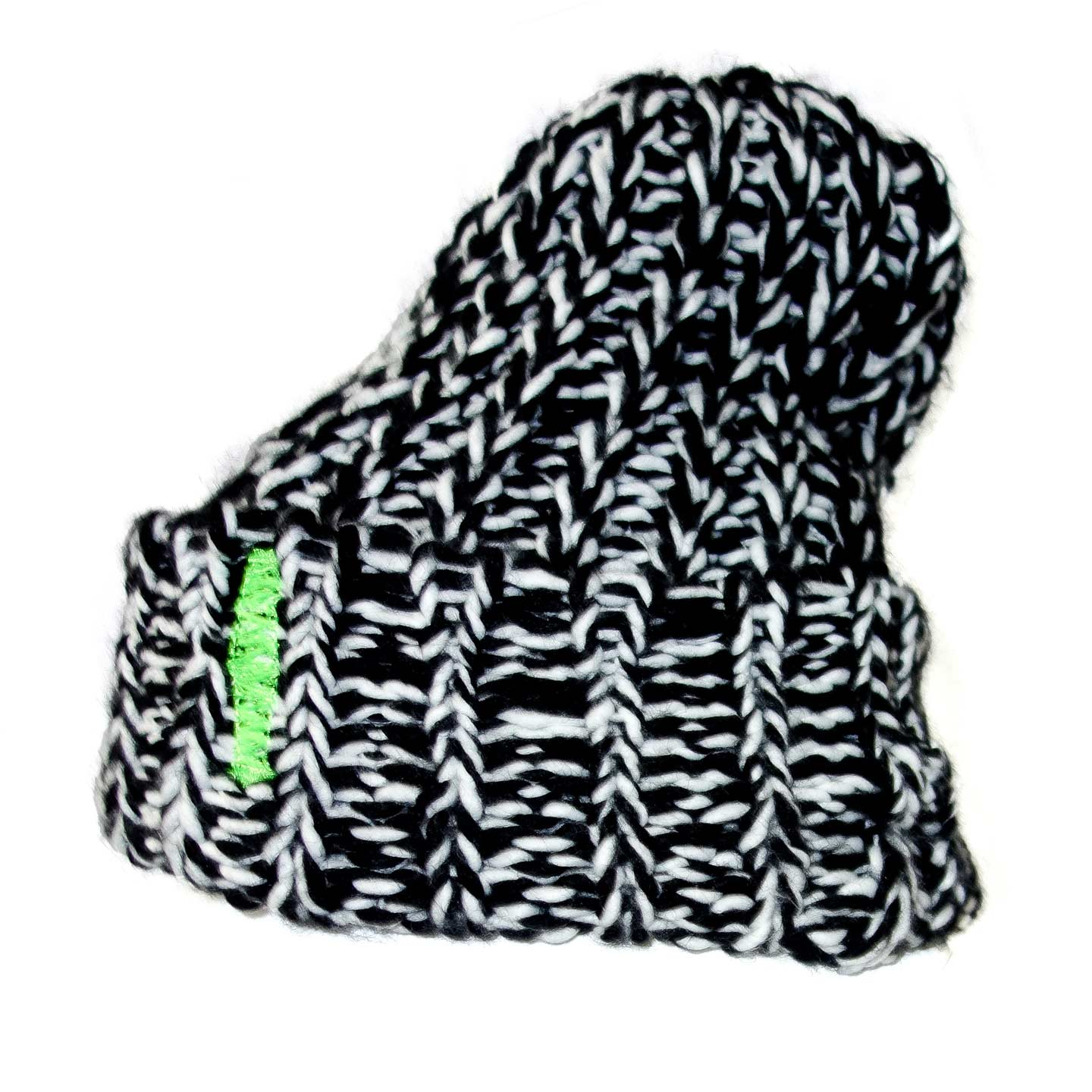 a4696387da55 Black And White HTC Los Angeles Wool Mix Hat -
