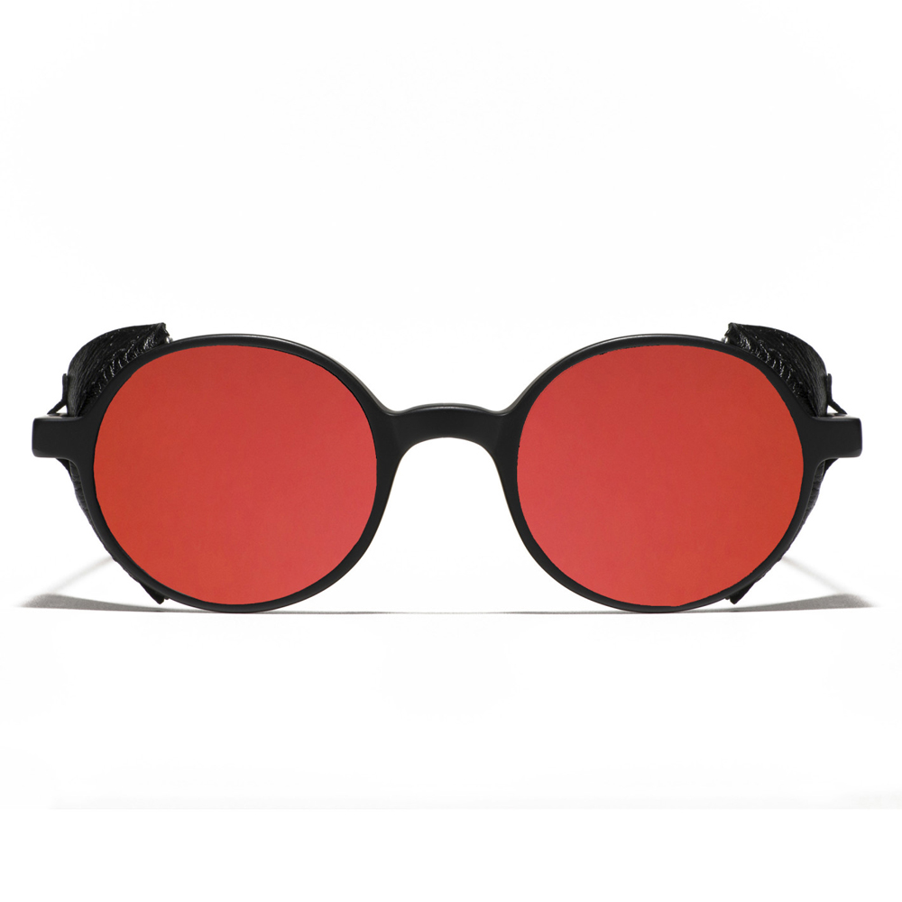 77f3ad38609 Black Matte and Red Mirror L.G.R. Reunion Flap Men s Sunglasses ...