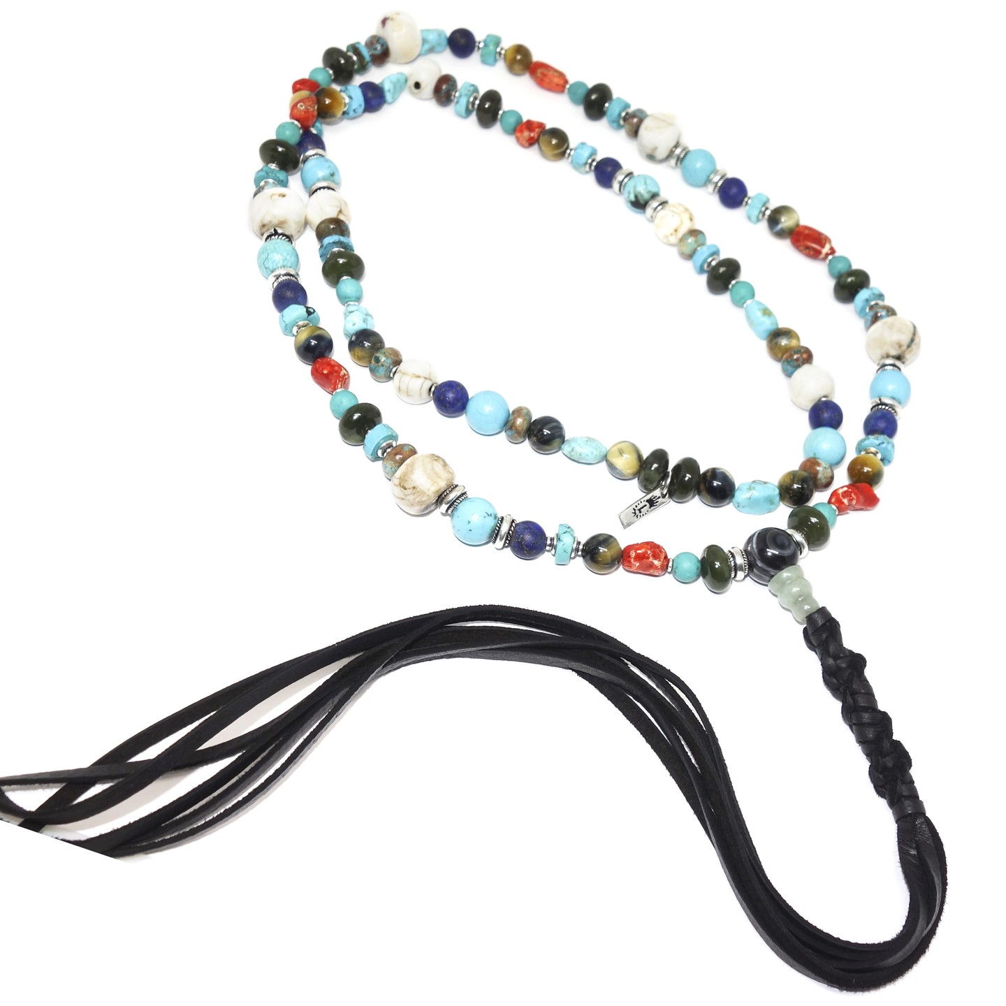 Colorful Assorted Stone Necklace