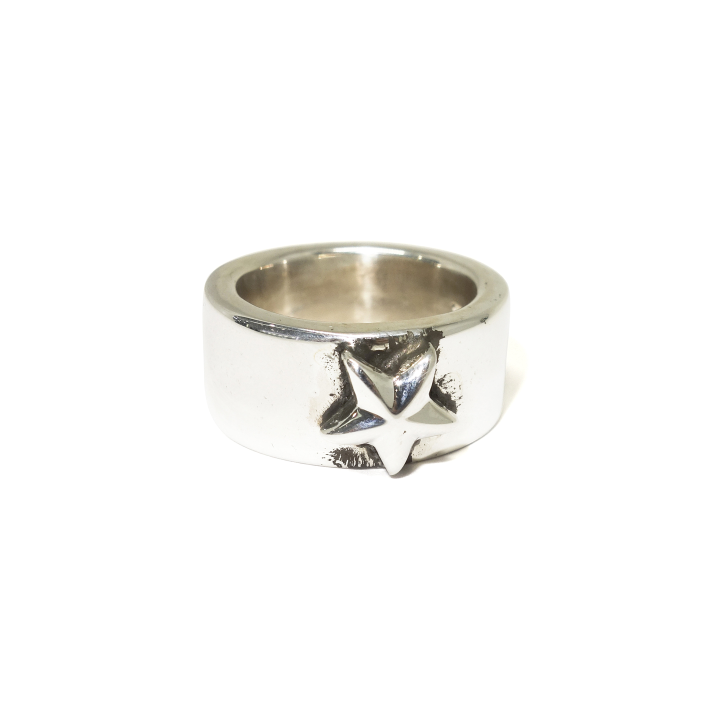 comparison star and thick rings adjustable unique silver rock silversmiths backyard ring by chunky products