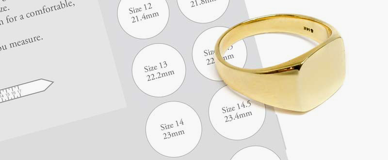 Printable Ring Sizer for all Mens Ring Sizes
