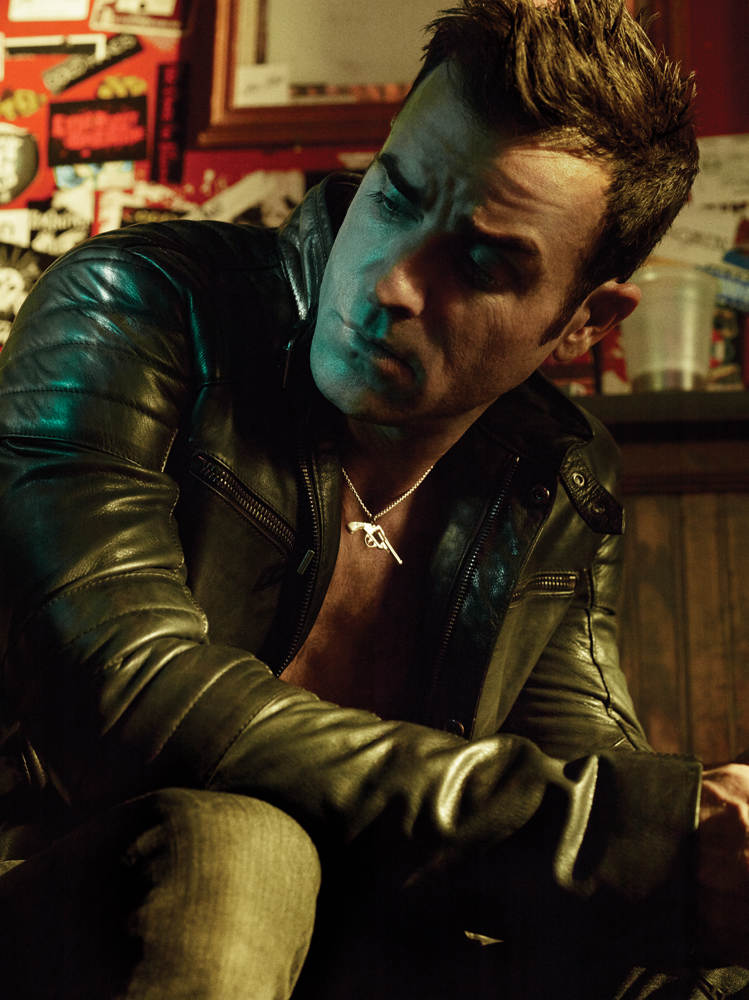 Justin Theroux Wears Lazaro SoHo in Interview Magazine