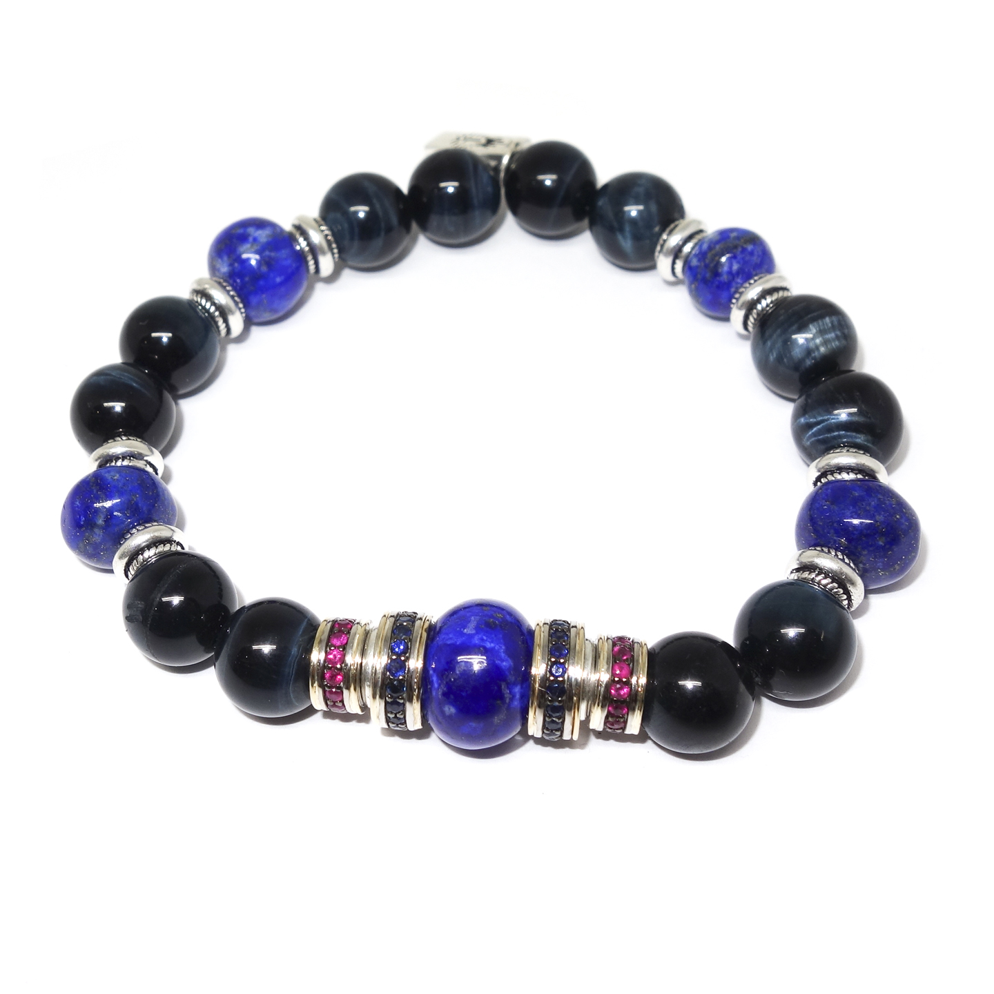 Lapis & Tiger's Eye Bracelet