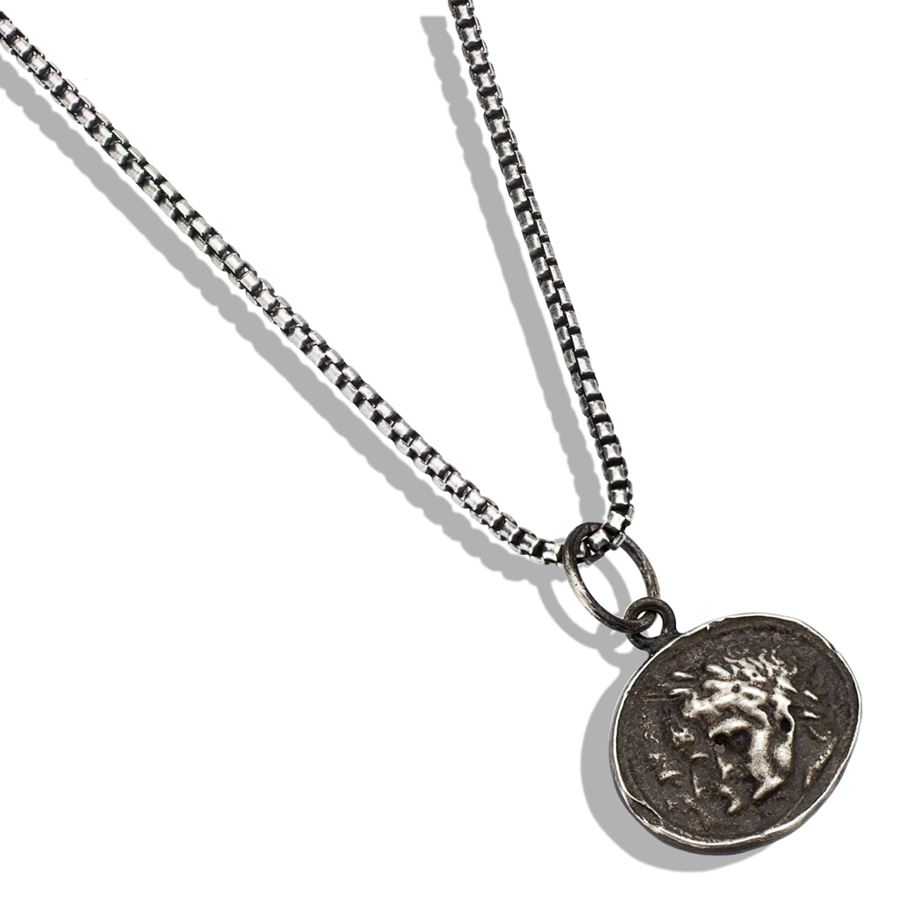 pendant necklace girlscrew ancient necklaces untitled sterling collections charm silver cubed products