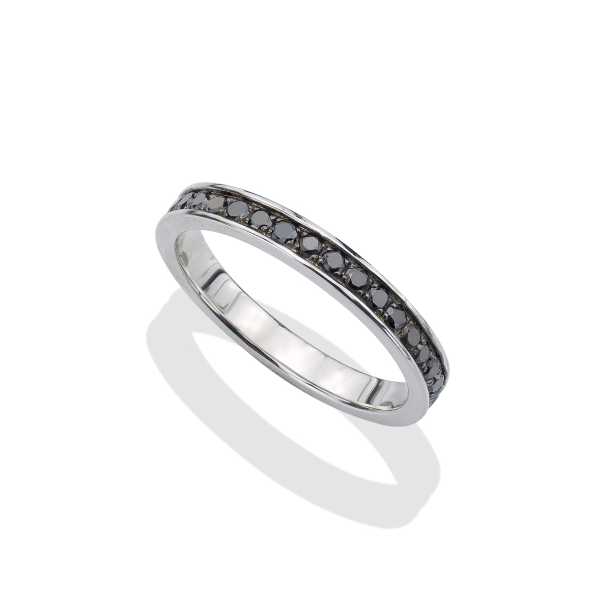 soho forged ring eternity diamond black lazaro jewelry s silver rings for mens men