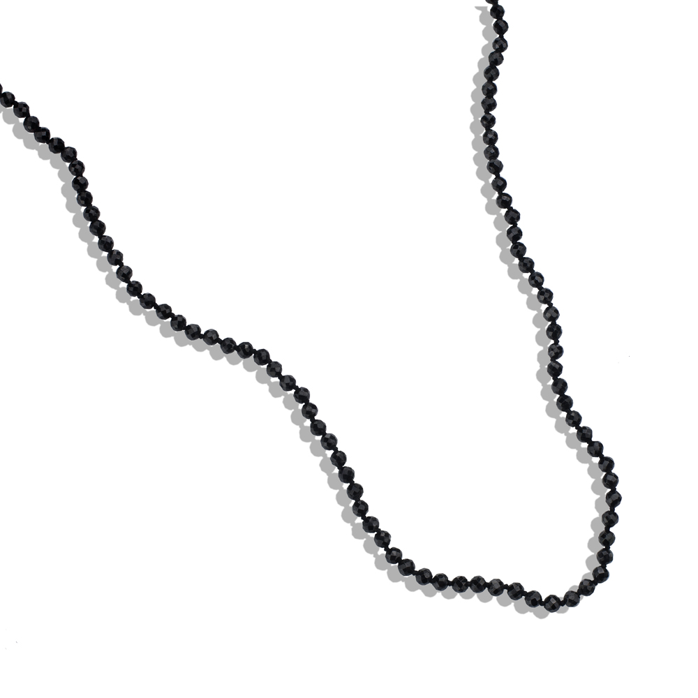 steel in i other onyx stainless solitaire necklace tennis lab chains chain diamond black mens