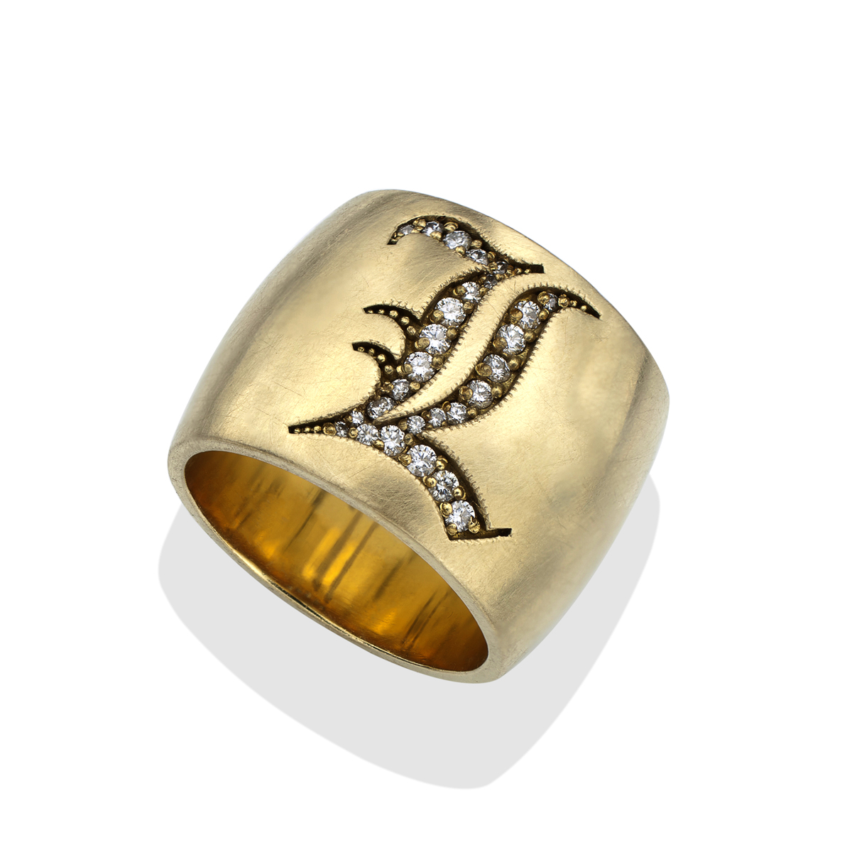hand engraved crazyass brass rings a custommade crazyassjewelry jewelry buy order com from made monogram mens to crafted signet wedding ring big by