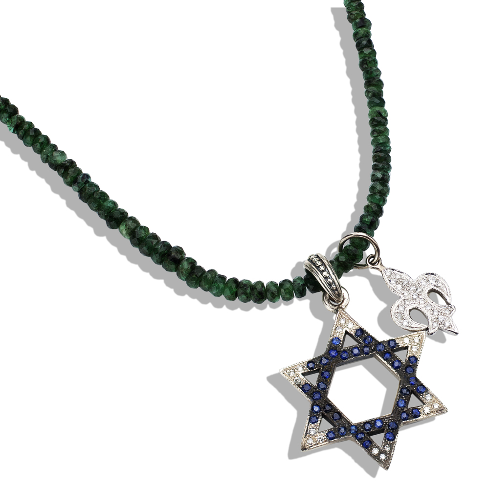 products vermeil karat david adornia necklace no yellow convertible magen of ygp jewish star gold