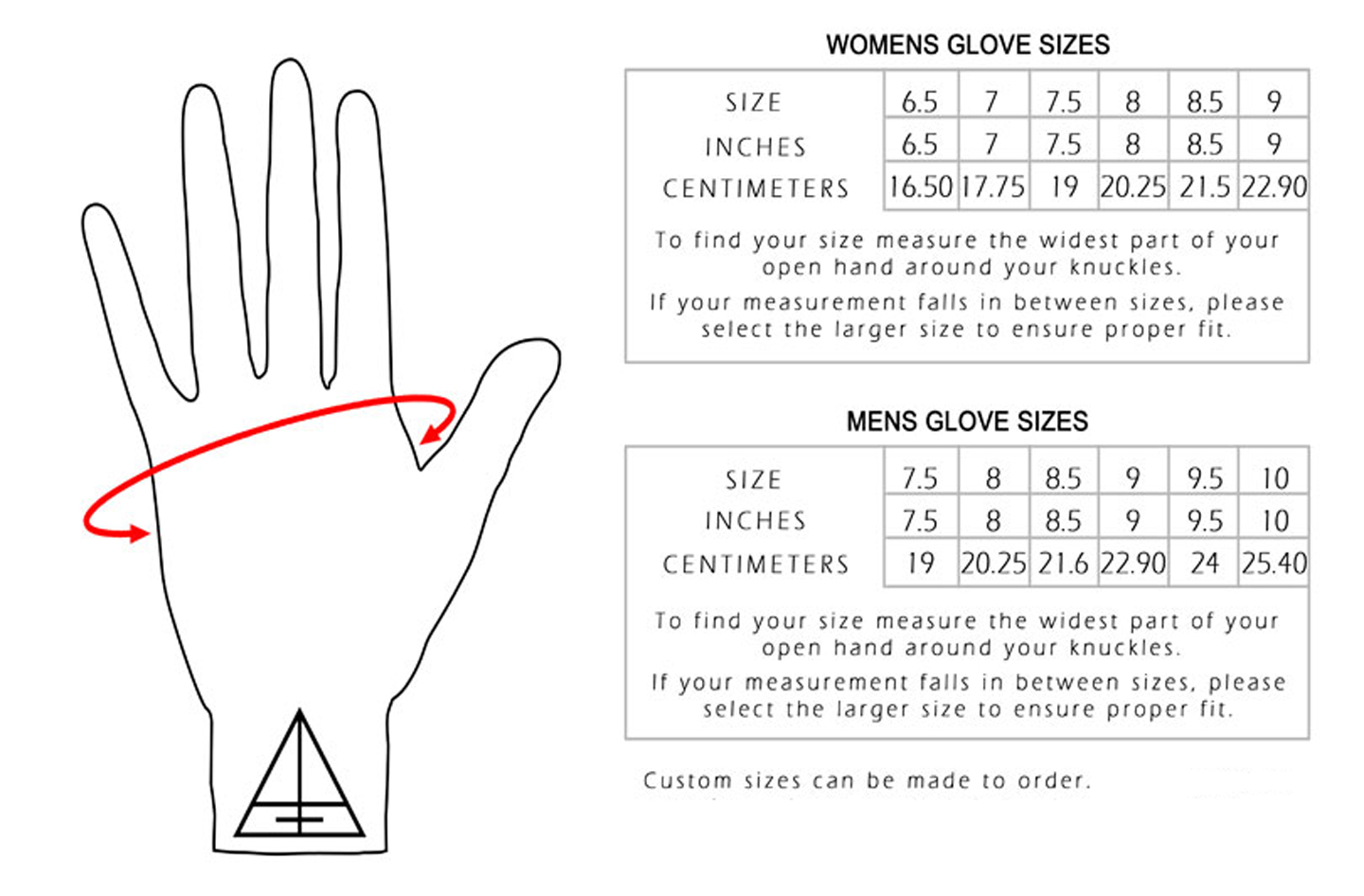 Mens sizes in gloves - Mens Sizes In Gloves 47