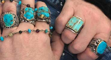Mens Turquoise Jewelry