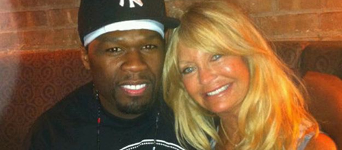 50 Cent and Goldie Hawn in Lazaro
